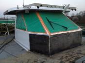 Remise en état d'un bateau de croisière