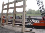 Remplacement de lisses de guidage en bois